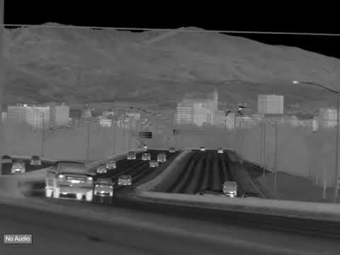 "HD Thermal Video of Traffic on Interstate 184 (""The Connector"") in Downtown Boise, Idaho."