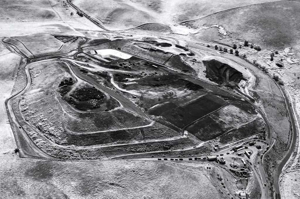 Near Infrared Aerial Photography-John Smith Landfill, Hollister, California.