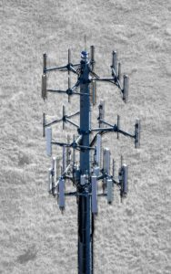 Aerial Photography, Cel Tower With Special Effects.