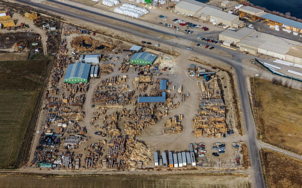 Forensic Aerial Photography-Materials Yard Census.