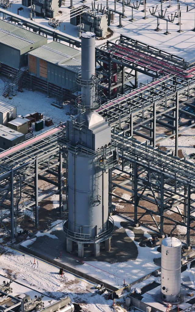 Forensic Aerial Photography-Manufacturing Asset at Abandoned Plant.