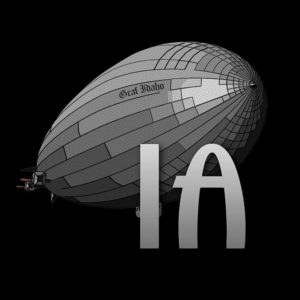 Idaho Airships, Inc. LiDAR + Thermography, Boise, Idaho Logo.