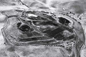 Near Infrared Aerial Photography, John Smith Landfill, Hollister, California.