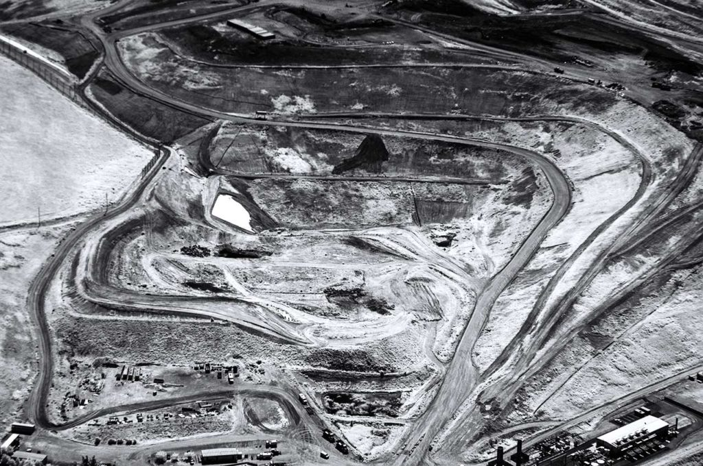 Forensic Near Infrared Aerial Photography-Portrero Landfill Near Travis AFB, California.