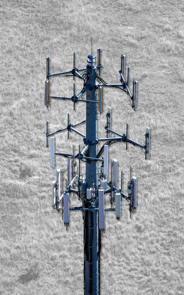 Aerial Photography-Cel Tower with Special Effects.