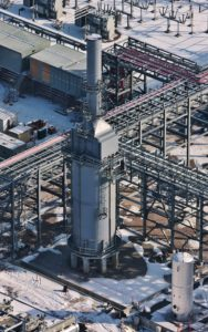 Forensic Aerial Photography, Manufacturing Asset at Abandoned Plant.